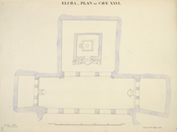 Ellora: Plan of Cave XXVI
